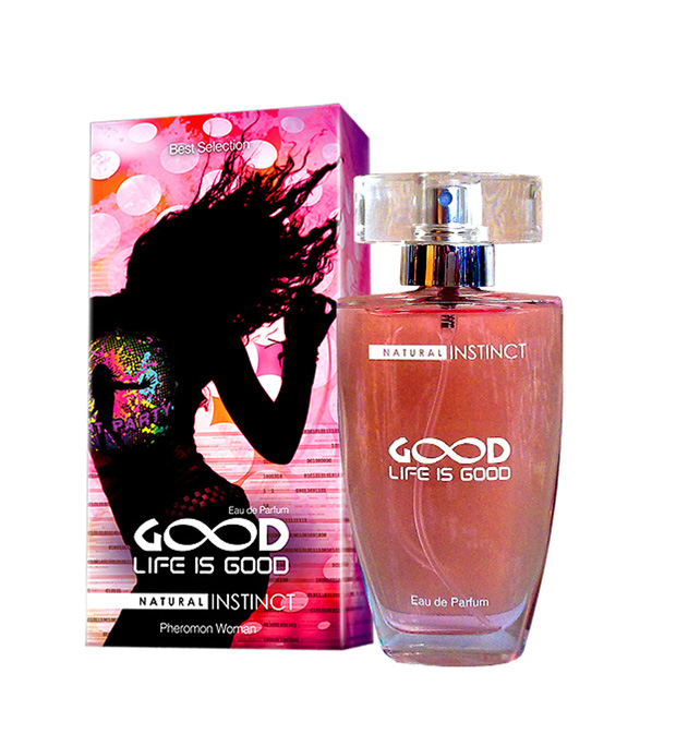 "pp00081 - Парфюмерная вода с феромонами ""Life is Good"", 50 ml"