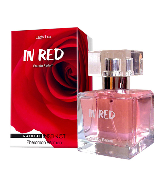 "pp00088 - Духи с феромонами ""In Red"" женские, 100 ml"