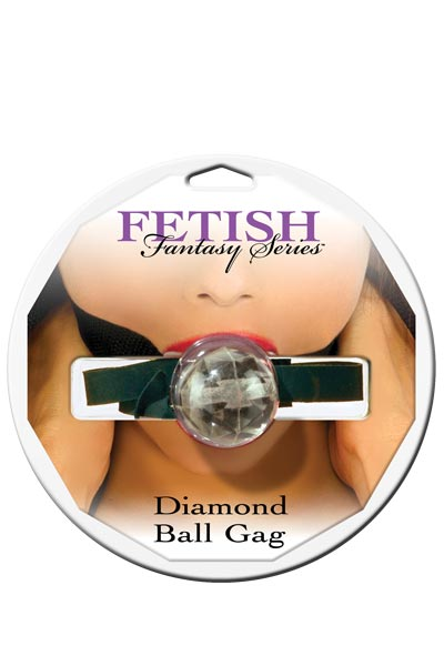 "dd44083   - Кляп ""Diamond Ball Gag"""