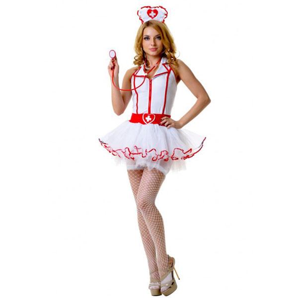 ki02897SM - Костюм медсестры с пышной юбкой