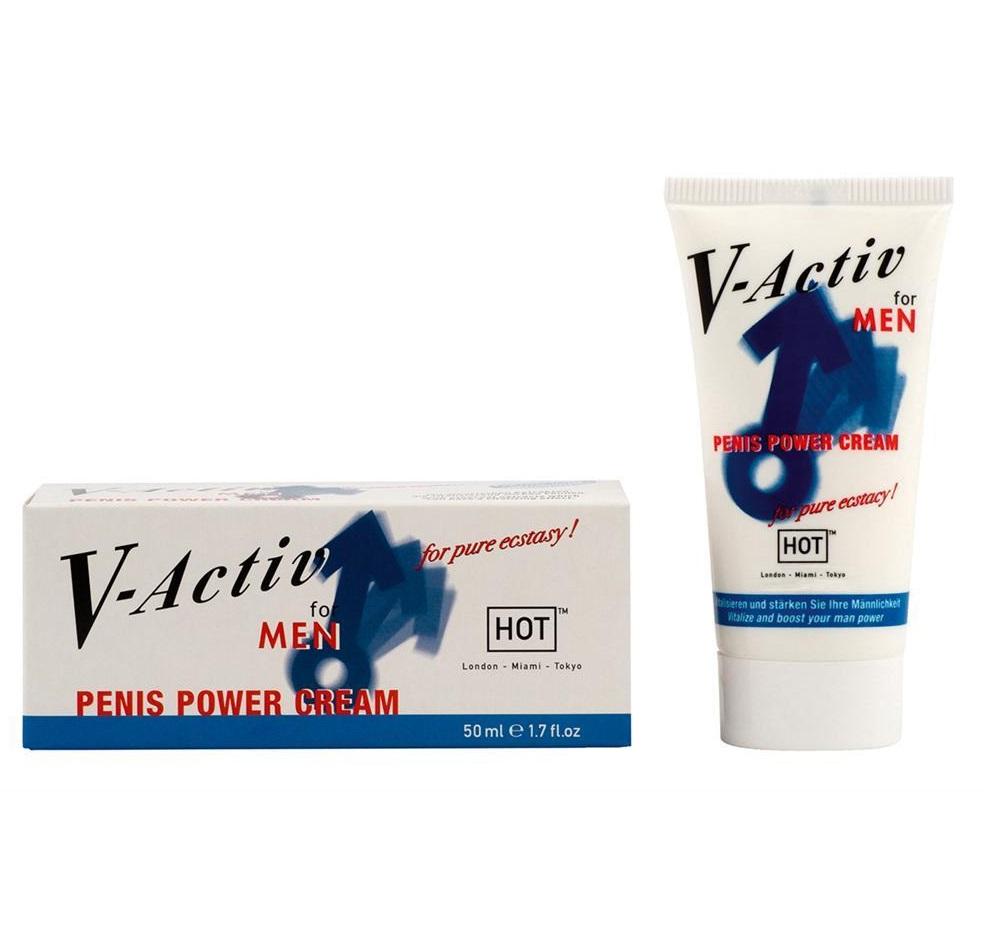 """ht44535 - Стимулирующий крем для мужчин """"V-Activ Penis Power"""", 50 ml"""