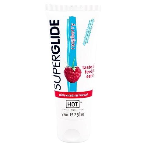 """ht44118   - Орально-вагинальная смазка """"Super Glide Raspberry"""", 75 ml"""