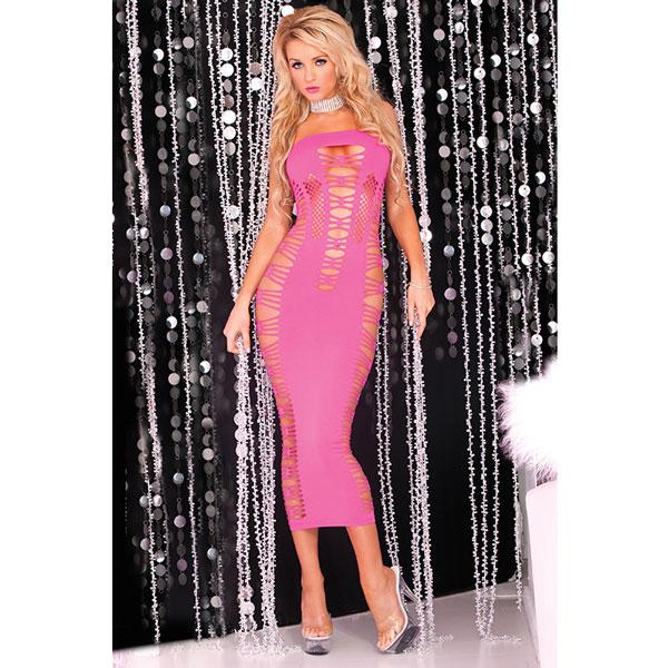 "pl225012P - Платье ""Pink Lipstick"""