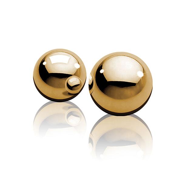 """dd44504 - Вагинальные шарики из металла """"Ben-Wa Balls"""""""