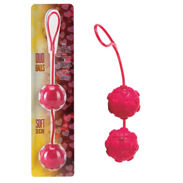 """dd50488 - Вагинальные шарики """"Duo Balls"""""""