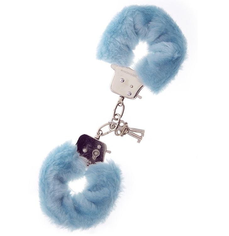 """t160027 - Наручники """"Blue Furry Love Cuffs"""""""