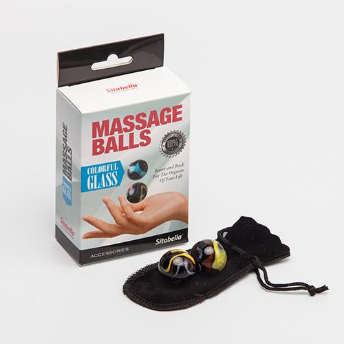 """sk8008 - Вагинальные шарики """"Glass Massage Balls"""""""