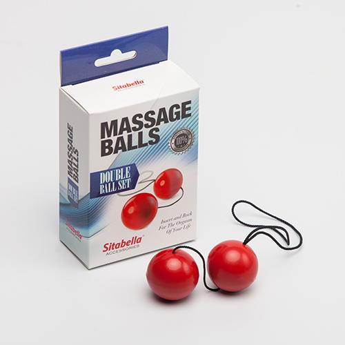 """sk8009-2 - Вагинальные шарики """"Massage Balls"""""""