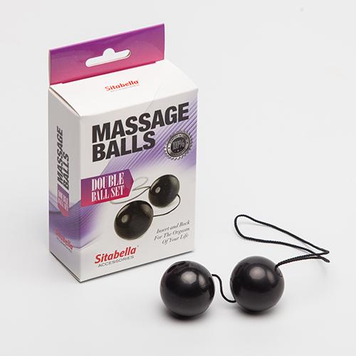 """sk8009-1 - Вагинальные шарики """"Massage Balls"""""""