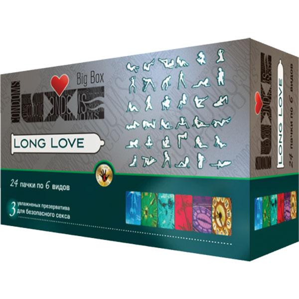 "con00006 - Презервативы ""Luxe Big Box - Long Love"", 3 шт."
