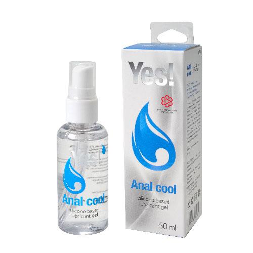 """mf4707 - Анальная смазка """"Yes Anal Cool"""", 50 ml"""