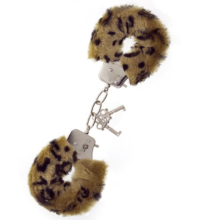 """t160034 - Наручники """"Leopard Cozy Cuffs"""""""