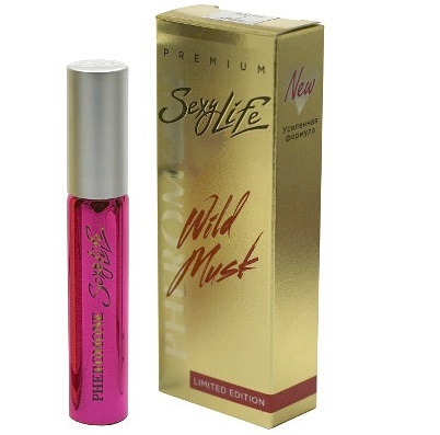 "pp00124 - Духи с феромонами ""Sexy Life Wild Musk #9 - Dark Purple"" женские, 10 ml"