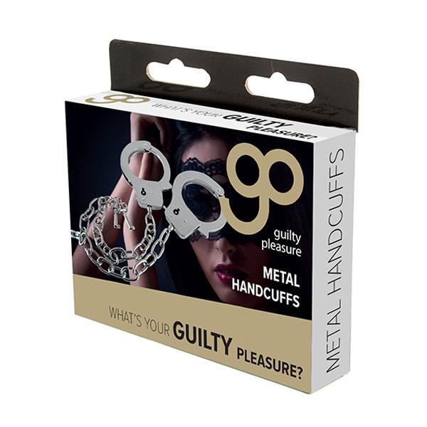 "t520054 - Наручники ""GP Metal Handcuffs Long Chain"""