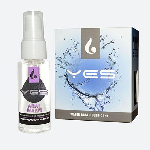 """mf4720 - Анальный лубрикант  """"Yes Anal Warm"""", 30 ml"""
