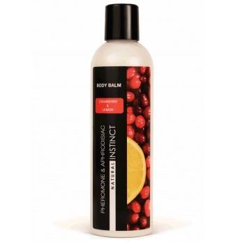 "pp00129 - Бальзам для тела с феромонами ""Natural Instinct - Клюква-Лимон"", 250 ml"