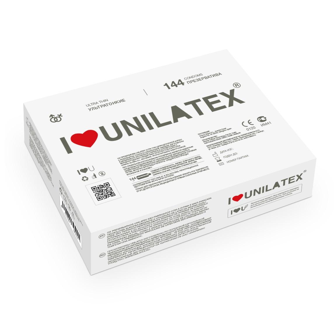 "con90017 - Презервативы ""Unilatex Ultrathin"", 144 шт."