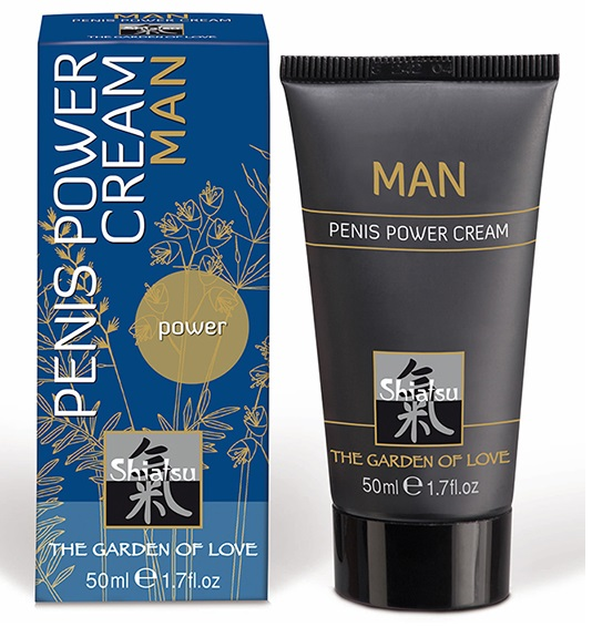 "ht66081 - Крем для мужчин ""Shiatsu Penis Power Cream"", 50 ml"
