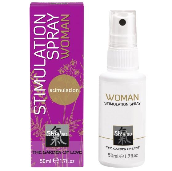 "ht66083 - Стимулирующий спрей для женщин ""Shiatsu Geisha's Dream"", 50 ml"