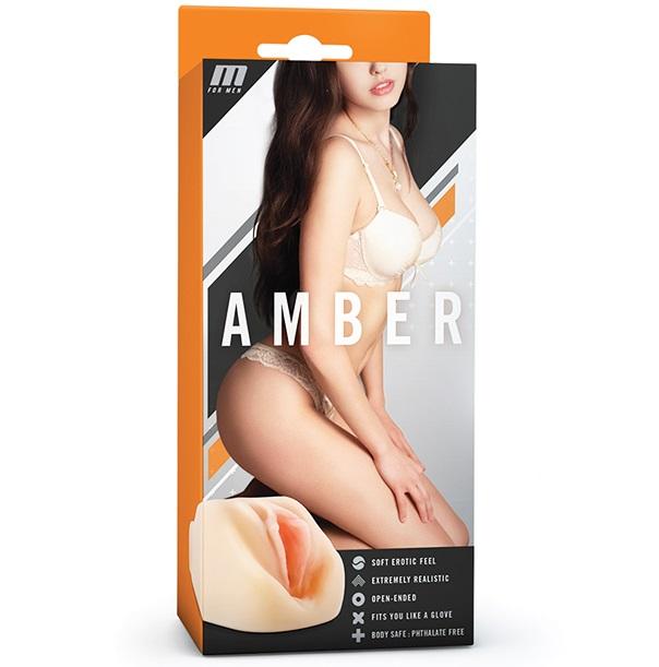 "t330457 - Мастурбатор ""M For Men Amber"""