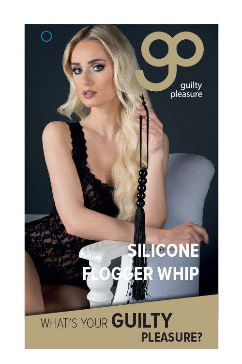 "t520083 - Мини-плеть ""GP Silicone Flogger Whip"""