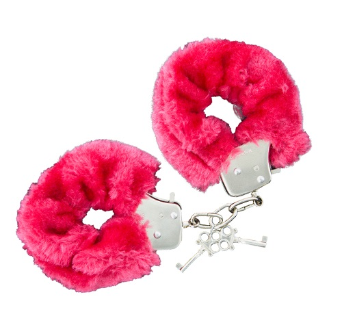"t520051 - Наручники ""GP Red Furry Cuffs"""