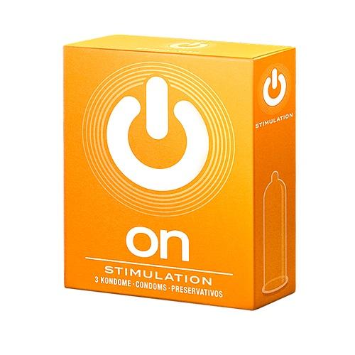 "con80020 - Презервативы ""On Stimulation"", 3 шт."