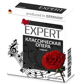 "con00132 - Презервативы ""Expert - Классическая Опера"", 3 шт."