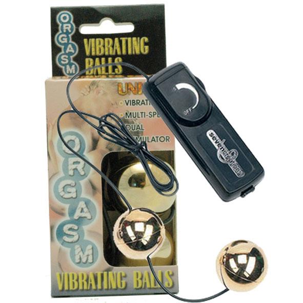 """dd50249 - Вагинальные шарики """"Gold Vibrating Balls"""""""