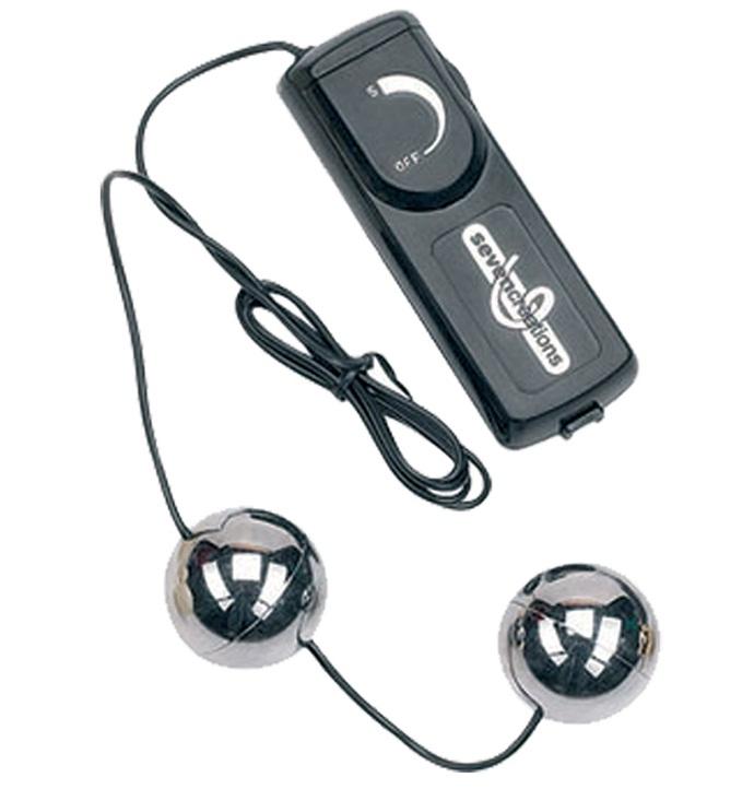 """dd50250 - Вагинальные шарики """"Silver Vibrating Balls"""""""