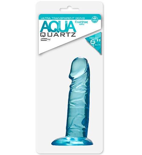 """t111733 - Фаллоимитатор """"Aqua Quartz"""""""