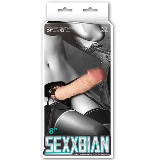"t111755 - Страпон ""Sexxbian 8"""