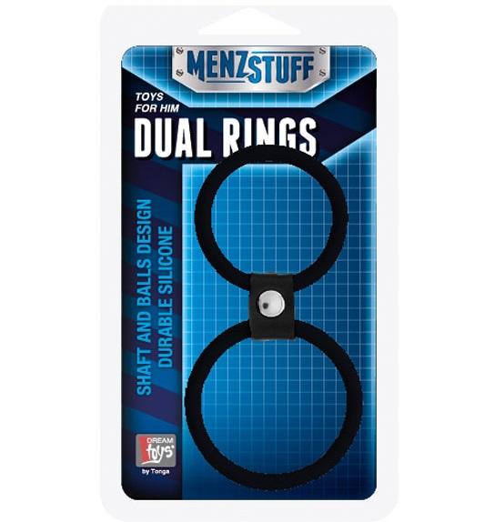 """dd20025 - Эрекционное кольцо """"Dual Rings"""""""
