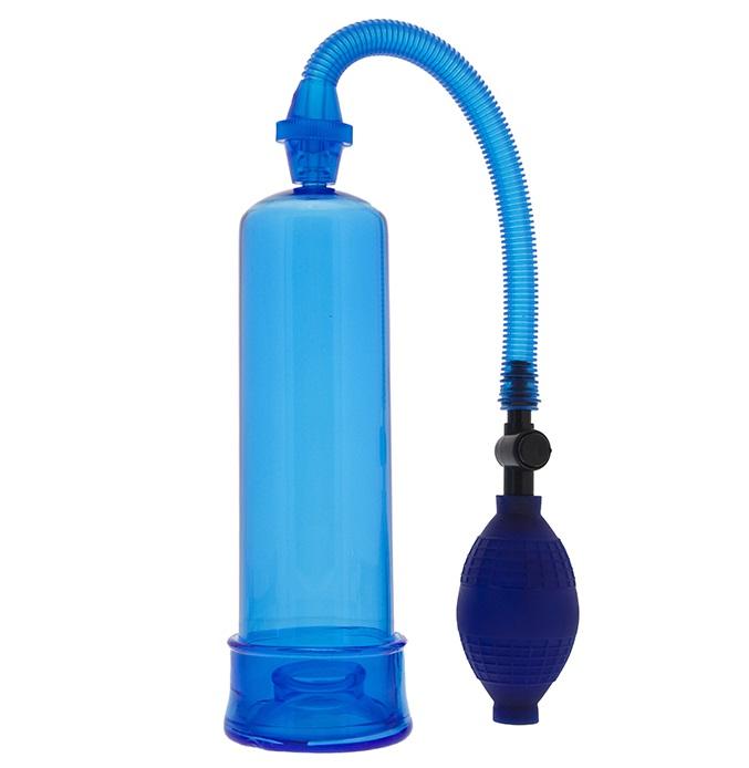 """dd20074 - Вакуумная помпа """"Blue Penis Enlarger"""""""