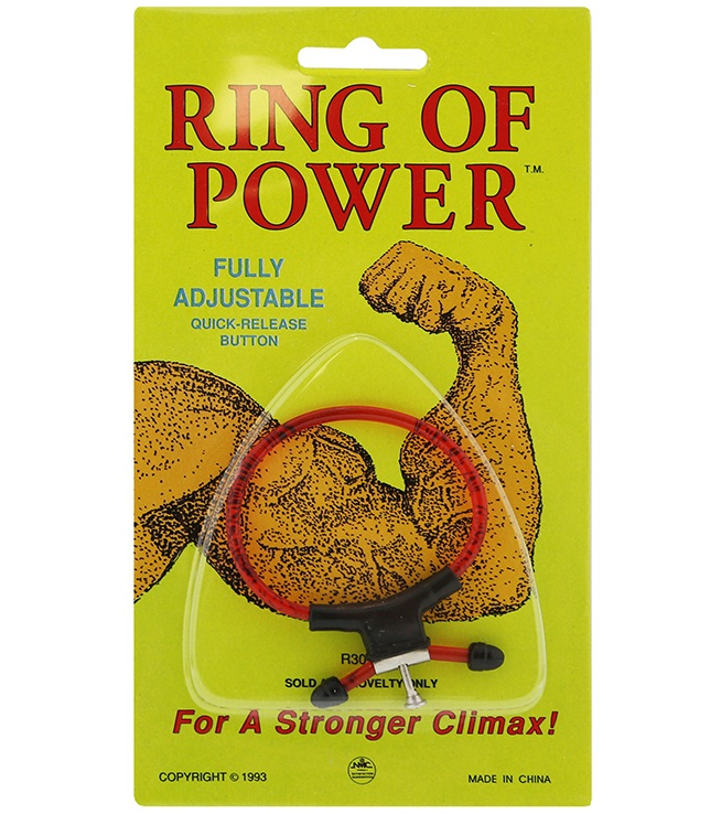 "t170042 - Эрекционное лассо ""Ring Of Power"""