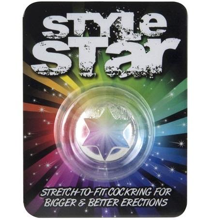 """dd50852 - Эрекционное кольцо """"Sryle Star"""""""