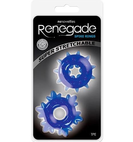 "t280209 - Эрекционное кольцо ""Renegade Spike Rings"""