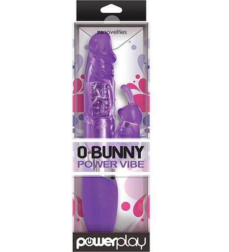 "t280277 - Вибромассажер ""Powerplay O Bunny Purple"""