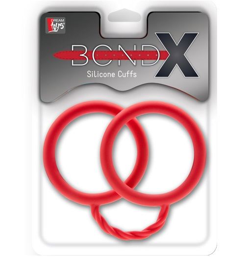 "dd21075 - Силиконовые наручники ""Bondx Silicone Cuffs"""