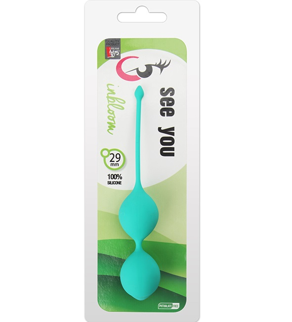 "dd21233 - Вагинальные шарики ""See You In Bloom Duo Balls"""