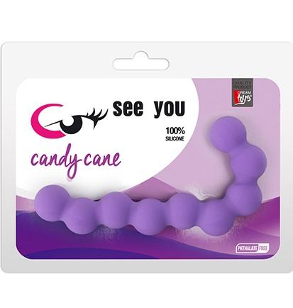"""dd21225 - Анальная цепочка """"See You Candy Cane"""""""