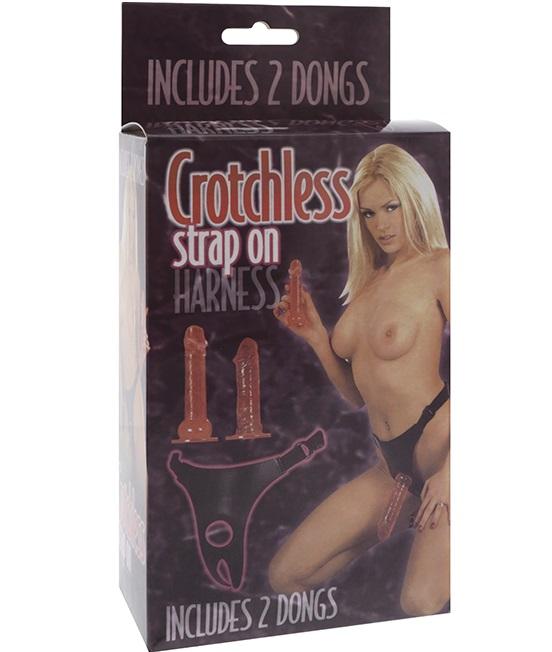 "dd50100 - Страпон ""Crotchless Strap-On"""