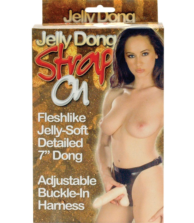 "dd50367 - Страпон ""Jelly Dong Strap On"""