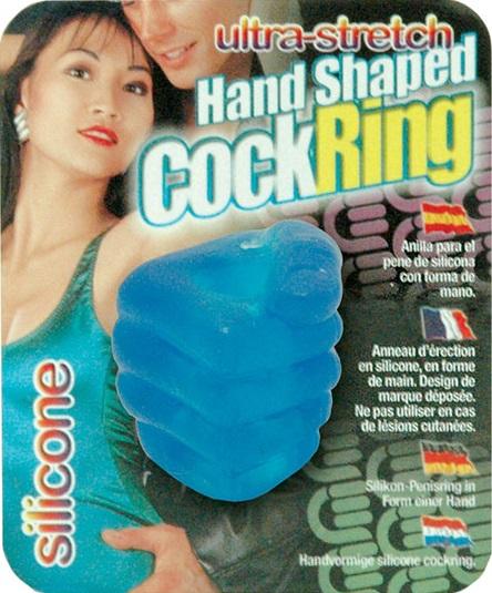 "dd50370 - Эрекционное кольцо ""Hand Shaped Cock Ring"""
