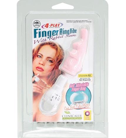 "t111222 - Вибростимулятор ""Finger Ring Vibe"""