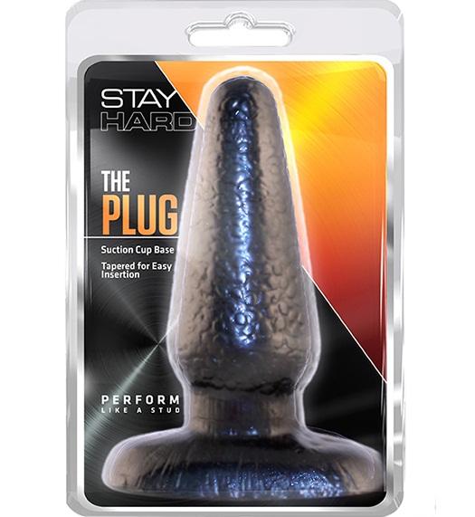 "t330572 - Анальная пробка ""Stay Hard The Plug"""