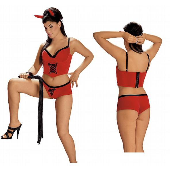 "r6356 - Игровой костюм ""Sexy Devil Costume"""