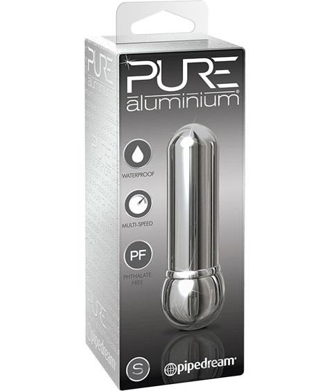 "dd44517 - Вибростимулятор ""Pure Aluminium Silver"""