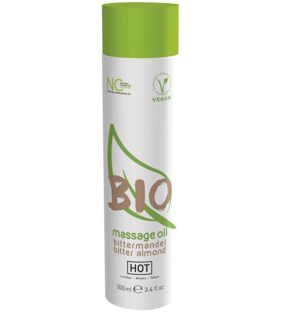 """ht44151 - Массажное масло """"Hot Bio Massage Oil Bitter Almond"""", 100 ml"""