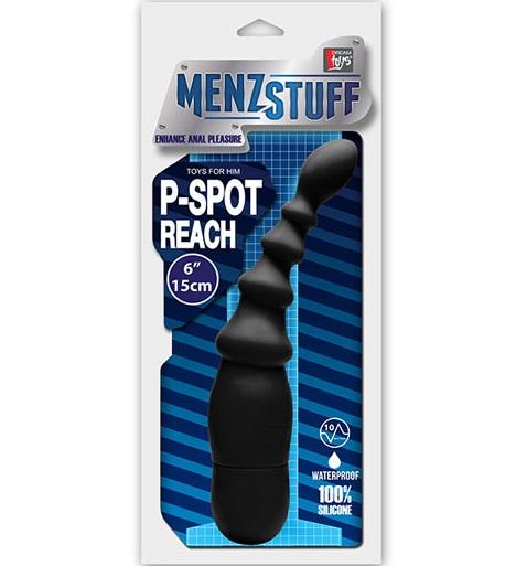 "dd21071 - Массажер простаты ""Menzstuff P-Spot Reach Vibe"""